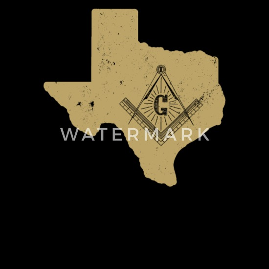 Texas Freemason Shirt With Freemason Square & Compass Apron