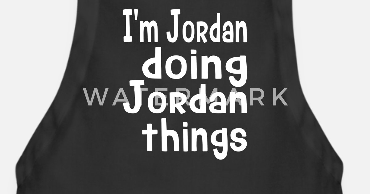 f22d52c8594a Personalized Name Gift for Jordan Apron