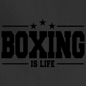 boxing is life 1 - Adjustable Apron