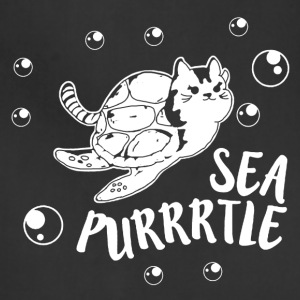 Sea Purrtle Shirt - Adjustable Apron