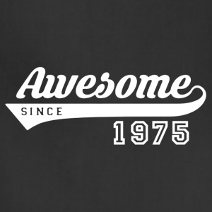 Awesome Since 1975 Shirt - Adjustable Apron
