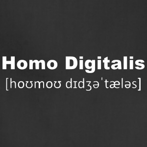Homo Digitalis (2250) - Adjustable Apron