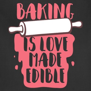 Baking Is Love Shirt - Adjustable Apron