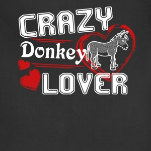 Donkey Lover Shirt - Adjustable Apron