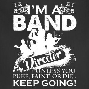 Band Director Shirt - Adjustable Apron
