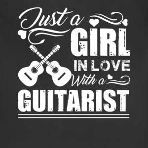 Girl In Love With A Guitarist Shirt - Adjustable Apron