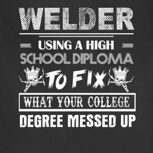 Welder Tshirt - Adjustable Apron
