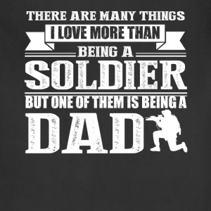 Soldier Dad Shirt - Adjustable Apron