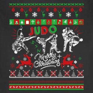 Judo T shirt - Judo Christmas Shirt - Adjustable Apron