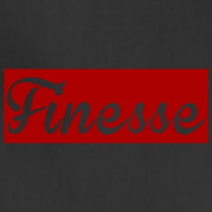 Finesse Red/White Supreme for men and women - Adjustable Apron