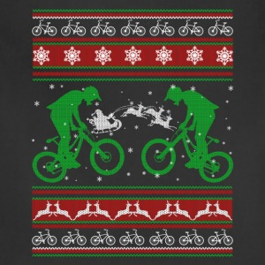 Bicycle Shirt - Bicycle Christmas Shirt - Adjustable Apron