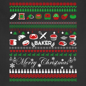 Baker Shirt - Baker Christmas Shirt - Adjustable Apron