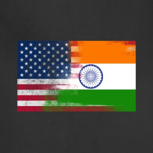Indian American Half India Half America Flag - Adjustable Apron