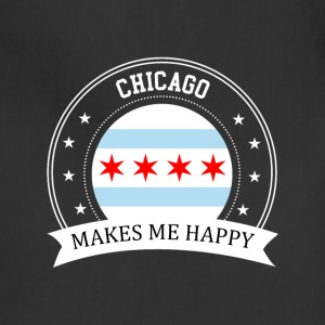Chicago Makes Me Happy - Adjustable Apron