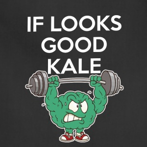 Funny Vegan Shirt If Looks Could Kale - Adjustable Apron