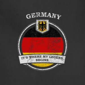 Germany It's Where My Legend Begins - Adjustable Apron