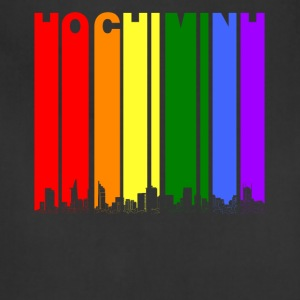 Ho Chi Minh Skyline Rainbow LGBT Gay Pride - Adjustable Apron