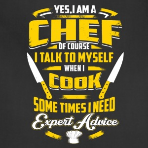 Chef Shirt - Adjustable Apron