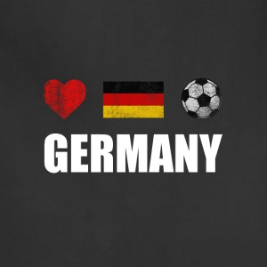Germany Football German Soccer T-shirt - Adjustable Apron