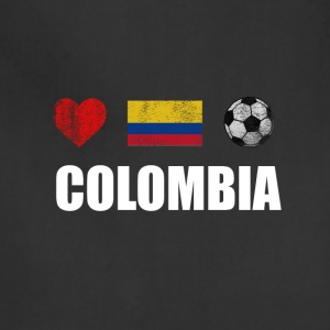 Colombia Football Colombian Soccer T-shirt - Adjustable Apron