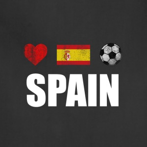 Spain Football Spaniard Soccer T-shirt - Adjustable Apron