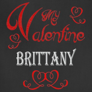 A romantic Valentine with my Brittany - Adjustable Apron