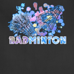 BADMINTON TEE SHIRT - Adjustable Apron