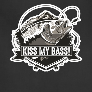 Bass Fishing Tshirt - Adjustable Apron