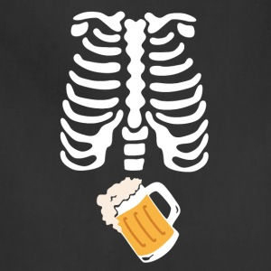 Skeleton beer - Adjustable Apron