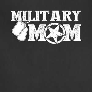 Military Mom Tee Shirt - Adjustable Apron