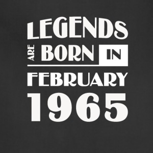 Legends are born in February 1965 - Adjustable Apron