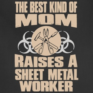 The Best Kind Of Mom Raises A Sheet Metal Worker - Adjustable Apron