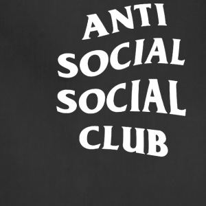 Anti Social Club - Adjustable Apron