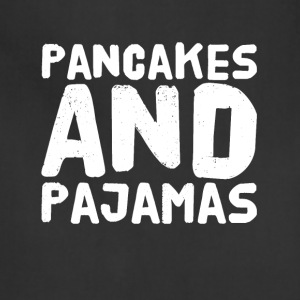 Pancakes and pajamas - Adjustable Apron
