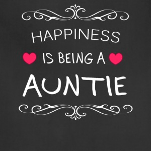 Happiness Is Being a AUNTIE - Adjustable Apron