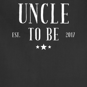 Uncle to be 2017 - Adjustable Apron