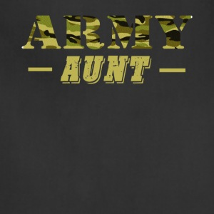 Army Aunt - Proud Army Aunt T-Shirt - Adjustable Apron