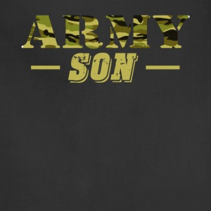 Army Son Shirt - Proud US Army Son T-Shirt - Adjustable Apron