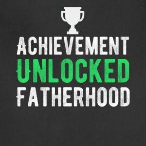 Achievement Unlocked Fatherhood T-Shirt - Adjustable Apron