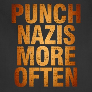Punch More Nazis Shirt Pre - Adjustable Apron
