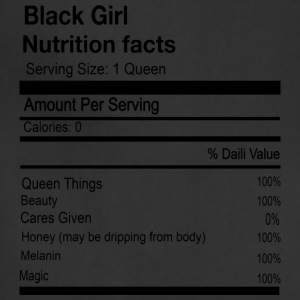 BLACK GIRL NUTRITION FACTS - Adjustable Apron