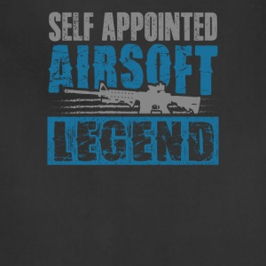 Self Appointed Airsoft Legend Shooters T-Shirt - Adjustable Apron