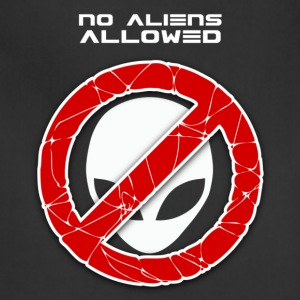 No aliens allowed - Adjustable Apron