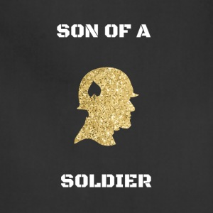 Son of a soldier gold - Adjustable Apron