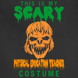Halloween This My Scary PE Teacher Costume - Adjustable Apron