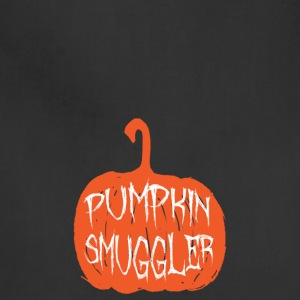 Halloween Pumpkin Smuggler Pregnancy Mom Expecting - Adjustable Apron