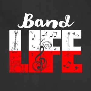band life shirt - Funny Gifts for Music Lovers - Adjustable Apron