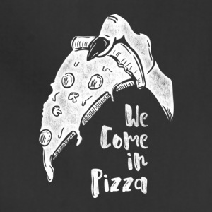 We Come In Pizza - Adjustable Apron