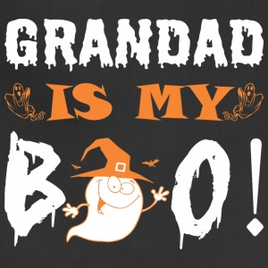 Grandad Is My Boo Happy Halloween - Adjustable Apron