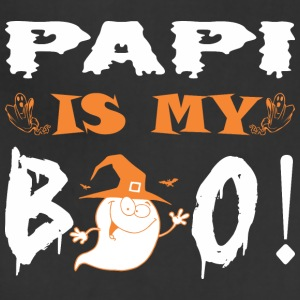 Papi Is My Boo Happy Halloween - Adjustable Apron